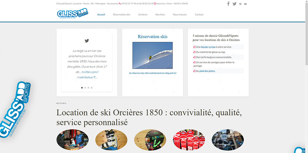 Glissadd sports Orcieres