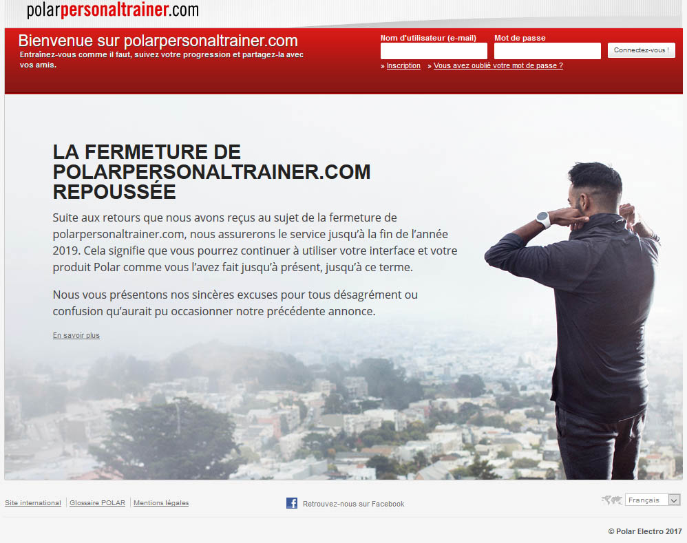 No fermeture polarpersonnaltrainer