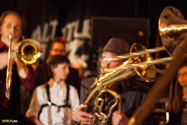 Altitude Jazz Festival Briançon Brass Band cloture 2018