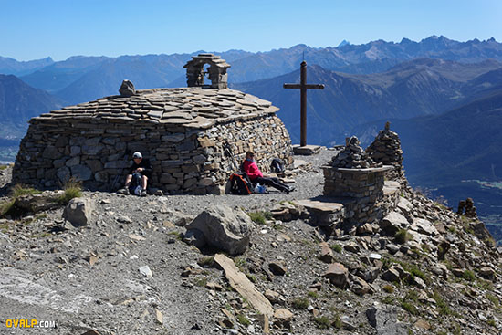 Chapelle Mont Guillaume vers Embrun