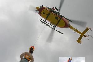 Helico Ec 145 Dragon 06 treuillage